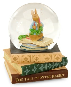 Peter Rabbit Musical Water Globe  Barnes and Noble