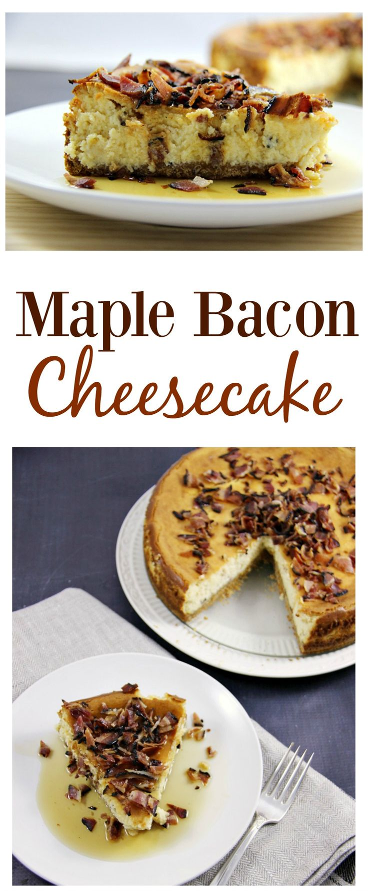 Maple Bacon Cheesecake #duBretonDelicious - Family Food And Travel