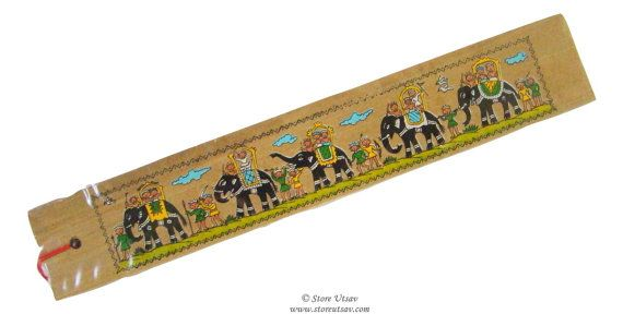 Bookmark Handmade Stationery Royal Cavalcade Indian Handicraft