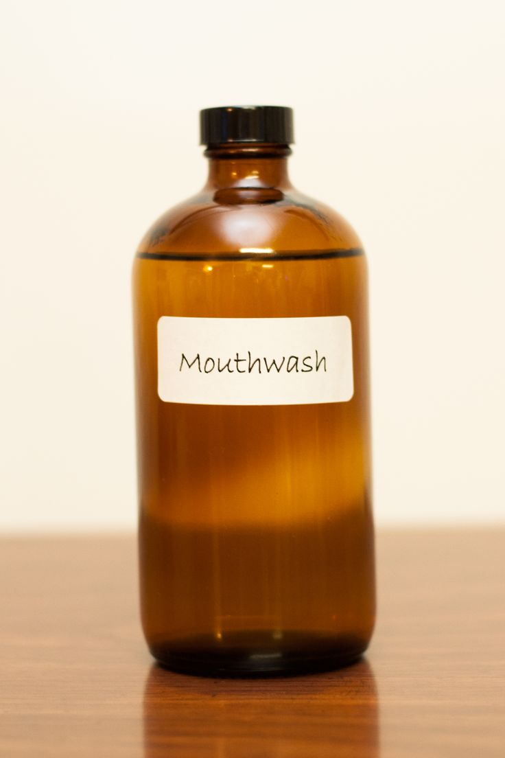 Mouthwash with doTerra essential oils. I love this recipe in an 8 oz bottle; 1C filtered water, 3 drops On Guard blend,  2 drops Wild Orange, and 1 drop Peppermint.