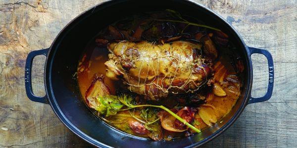 Een recept uit De Wilde Keuken, de kookbijbel over jagen en wild van Stéphane Reynauld.
