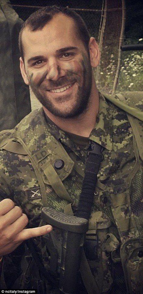 Nathan Cirillo...taken too soon....while on duty in Ottawa....