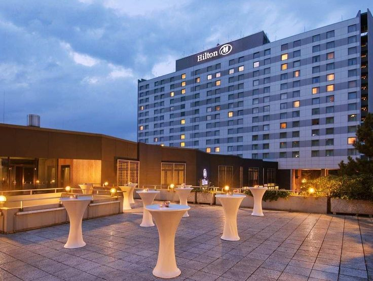 Dusseldorf Hilton Dusseldorf Hotel Germany, Europe The 5-star Hilton Dusseldorf Hotel offers comfort and convenience whether you're on business or holiday in Dusseldorf. The hotel offers guests a range of services and amenities designed to provide comfort and convenience. Service-minded staff will welcome and guide you at the Hilton Dusseldorf Hotel. Comfortable guestrooms ensure a good night's sleep with some rooms featuring facilities such as television LCD/plasma screen, in...