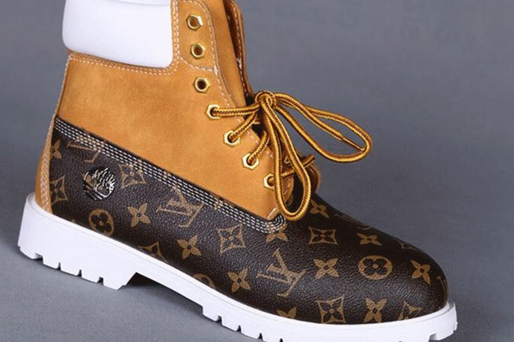 Fashion, style, mens and womens shoes, mens wear,Custom Timberland 6 Inch Boots For Men Brown Luxury Surface Wheat White UK,timberland boots,louis vuitton shoes