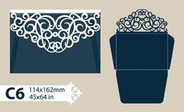 Лазер отрезал шаблон конверта для карточки свадьбы приглашения - Скачивайте Из Более Чем 54 Миллионов Стоковых Фото, Изображений и Иллюстраций высокого качества. изображение: 71364303