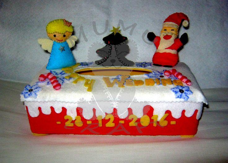 Mumu Craft menerima pesanan kotak tisu hias u/ hadiah ulang tahun, souvenir pernikahan dan parcel hari raya Lebaran, Natal serta Imlek. SMS +6281221624304 Line : fanytanuriady BBM : D2576130 WA : +6281221624304