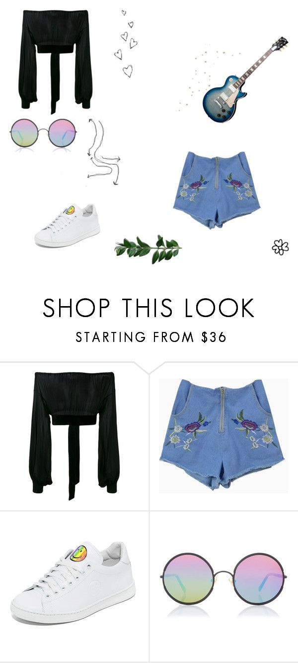 """""""Don't be a bummer babe"""" by victoria-dewolf ❤ liked on Polyvore featuring Yves Saint Laurent, Brinley Co, Joshua's and Sunday Somewhere"""