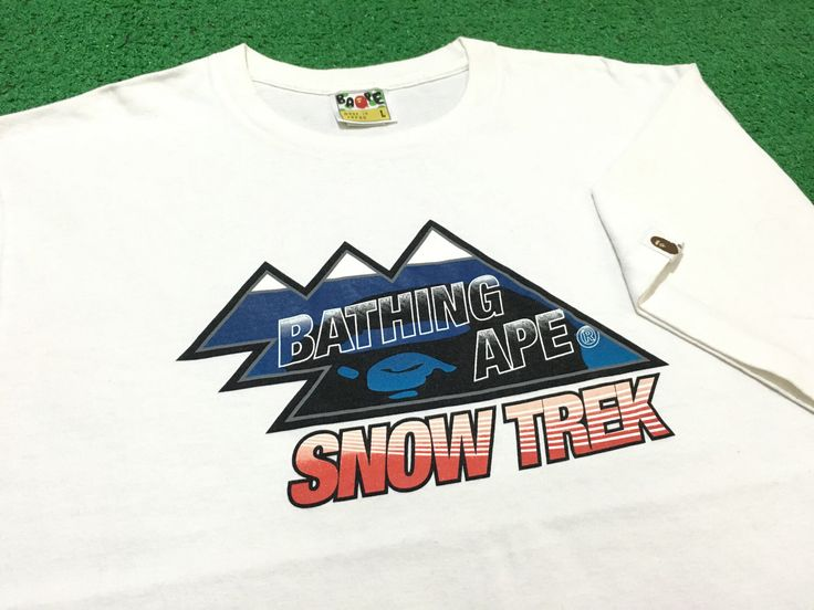 A personal favorite from my Etsy shop https://www.etsy.com/listing/507273212/a-bathing-ape-shirt-bape-snow-trek-rip