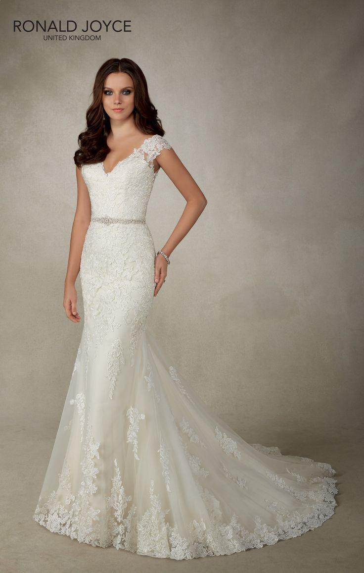 119 best Ronald Joyce Bridal images on Pinterest | Wedding frocks ...