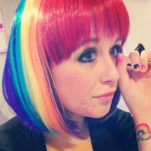 Rainbow Hair, Rainbow Tattoo!