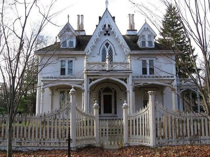 38 best images about carpenter gothic on pinterest for Carpenter style homes