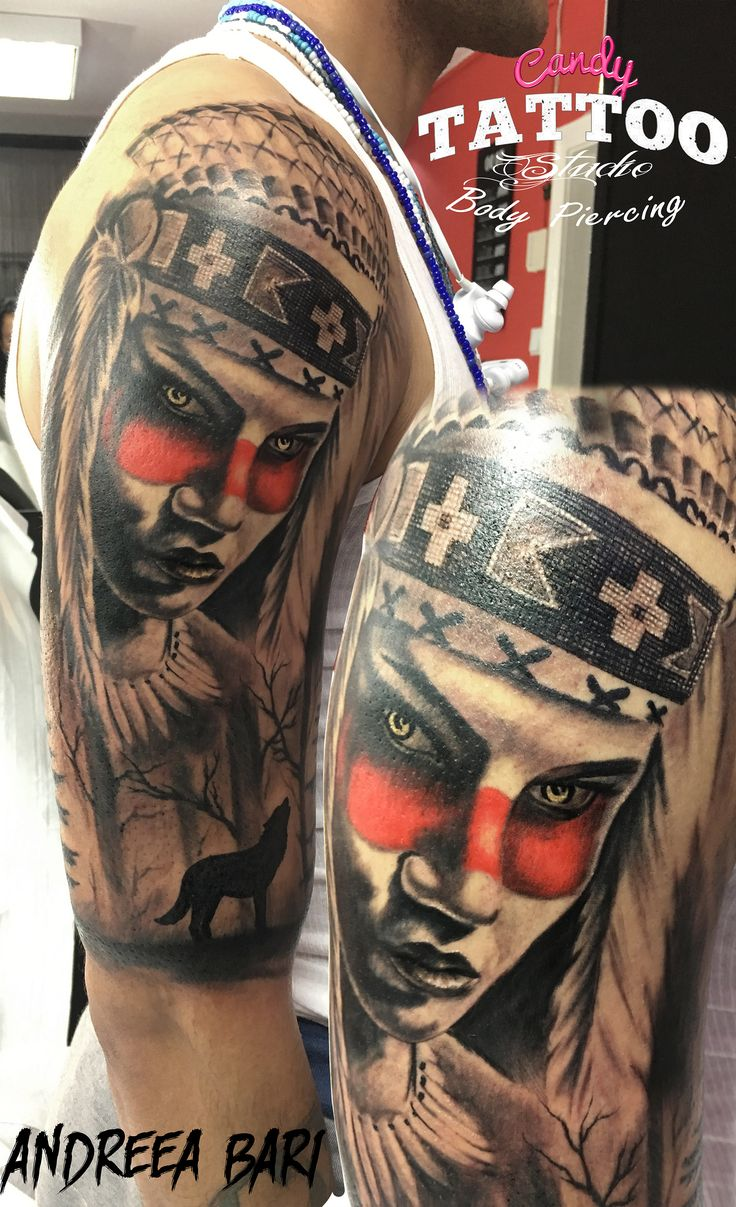 by Andreea Bari  http://candy-tattoo.ro/