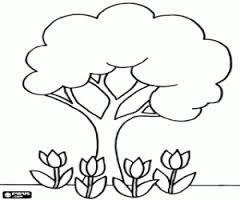 Resultado de imagen para dibujos siluetas arbol