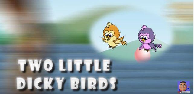 Two Little Dicky Birds   Nursery Rhyme For Children   KidsOne