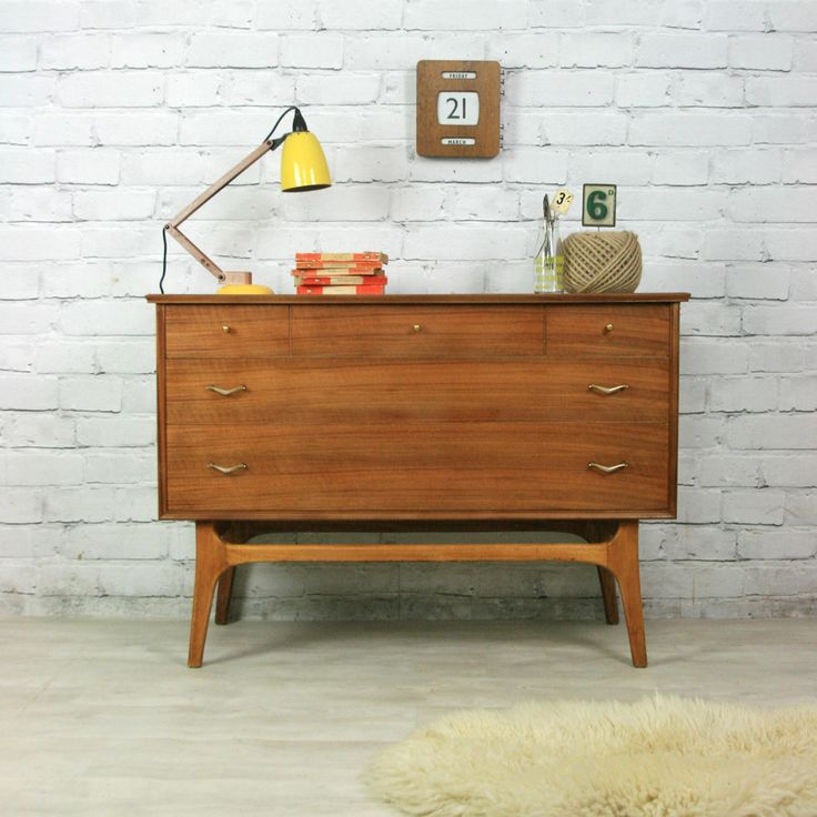 Vintage 1950s Alfred Cox Chest of Drawers - beautiful mid-century piece for our office