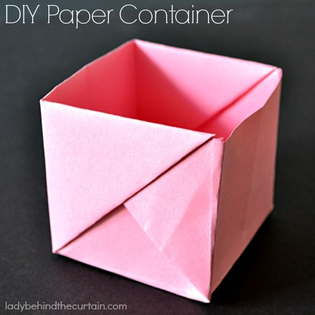 Diy paper containers lady curtains and the o 39 jays for Paper curtains diy