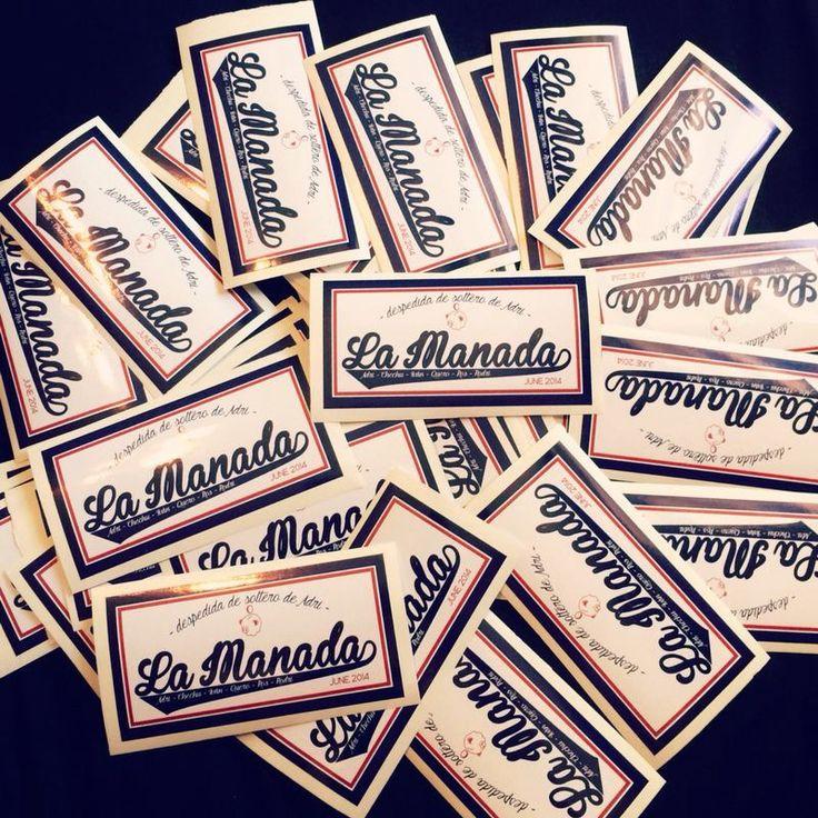 #stickers diseño para despedida de soltero