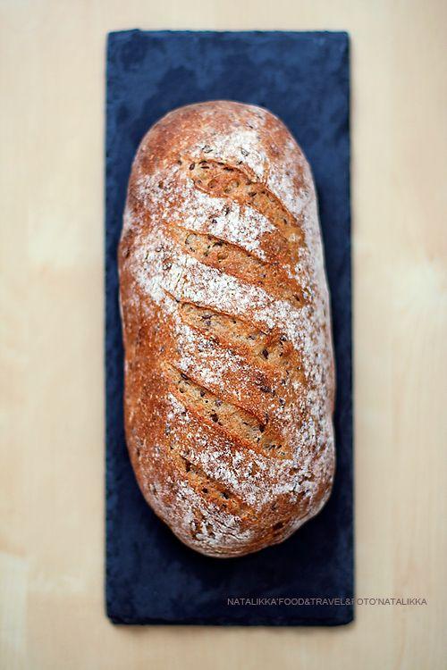 Полезный, вкусный, красивый и изысканный – все в нем: хлеб из полбяной муки на закваске - Good things