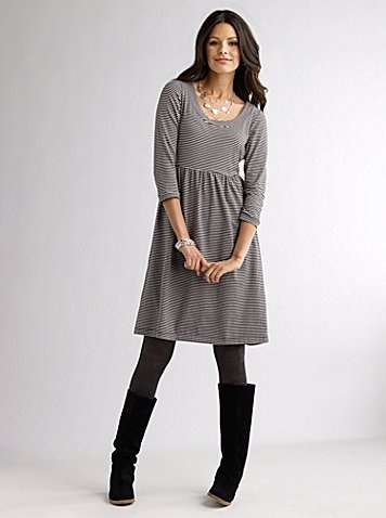 This dress, those leggings, these boots.