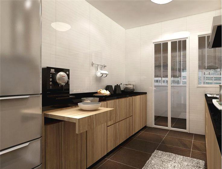Kitchen Ideas  Fernvale 4room kitchen by 9degree Note