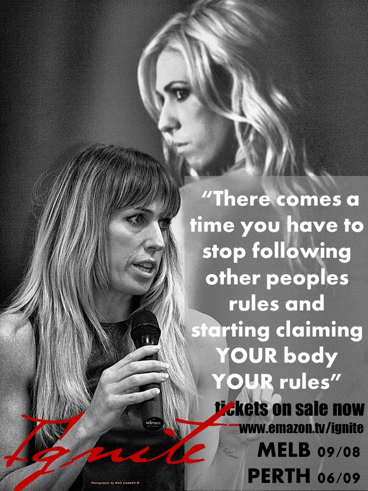 Your Body Your Rules #emazon #rebelology
