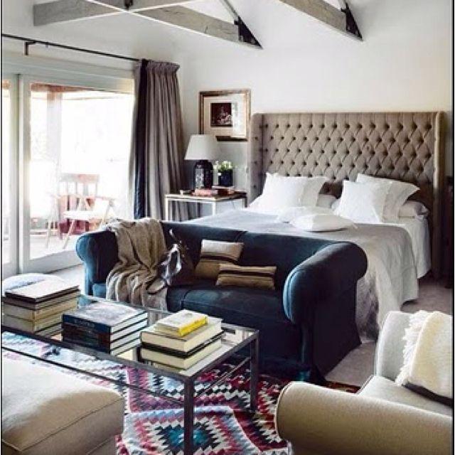 Living Room Bedroom Pinterest: Living Room/bedroom Combo