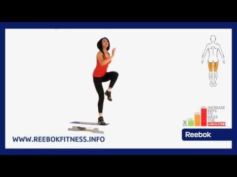 Reebok Fitness Ćwiczenia Online: Step - Step wysoki naprzemienny
