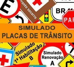 O Simulado Placas de Trânsito reuni as questões dos Simulados Placas de Regulamentação e Placas de Advertência. Este simulado Placas de Trânsito contém questões essenciais para que você possa se familiarizar com os conteúdos das provas oficiais do DETRAN.