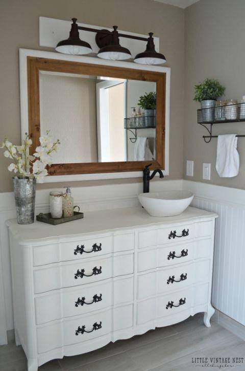 Painted Bathroom Vanity