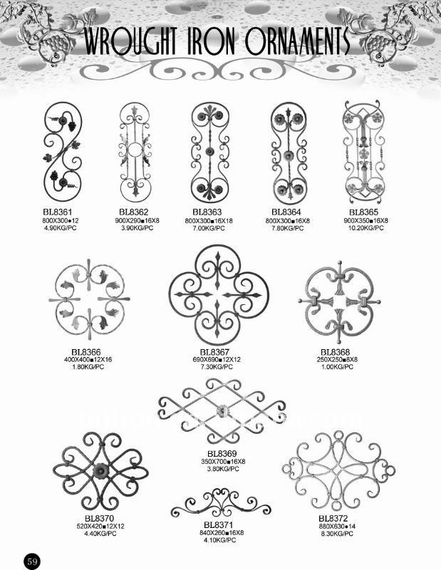 mexican style wrought iron panel designs - Google Search
