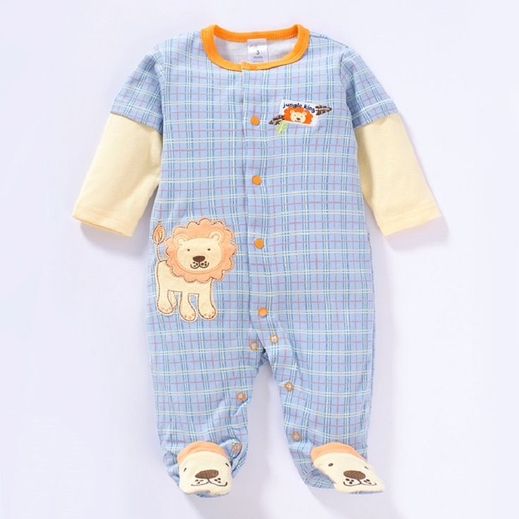 2017 new arrival newborn baby clothes cotton fabric soft infant girl jumpsuit clothing macacao bebe baby boy romper