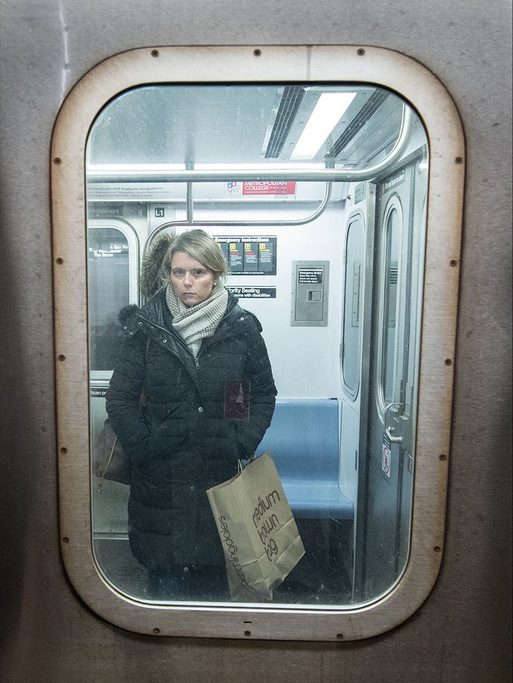 Photography Competition 2016 | National Geographic Traveller (UK) A passenger travels on the New York Subway.