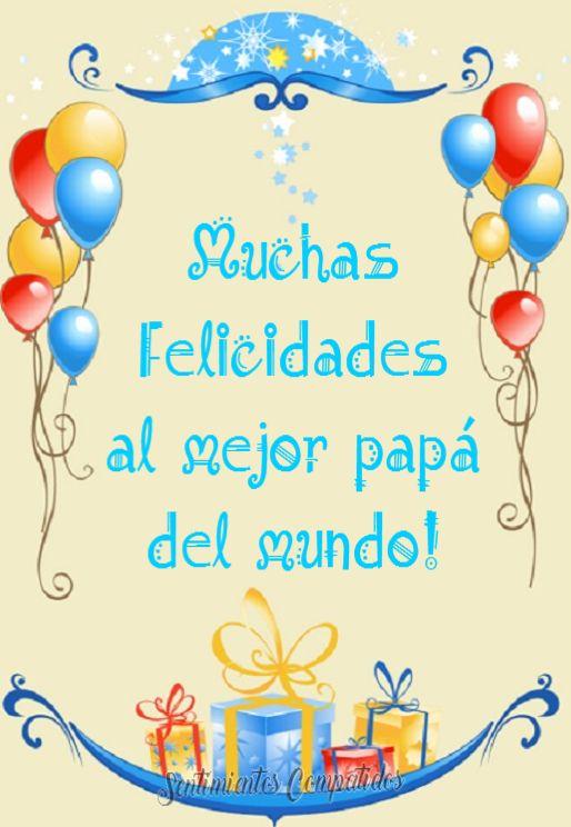 Felicidades a papá!