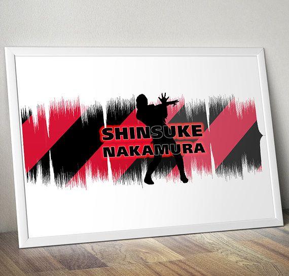Shinsuke Nakamura WWE Wrestling Entrance Soundwave Poster Gift