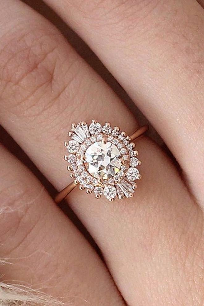 Antique Engagement Rings Los Angeles Ca Vintage Engagement Ring