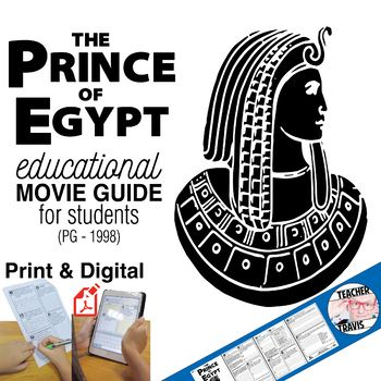 The Prince of Egypt Movie Viewing Guide (PG - 1998) portrays the story of Moses delivering the Hebrew slaves in way that is entertaining and engaging for young viewers. Besides the Biblical implications this story also teacher general life lessons of pride, belief, hope and has a great example of the hero's journey.