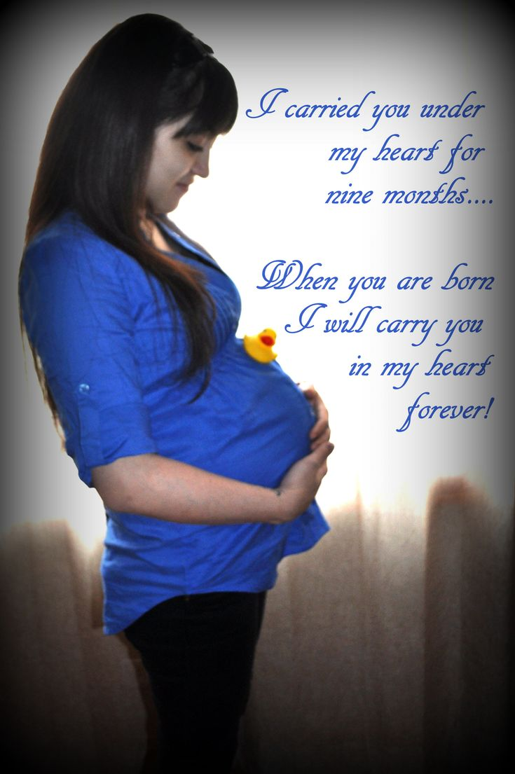 A mom's love for her unborn child