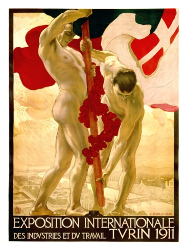 Expo Internationale #Turin, 1911.
