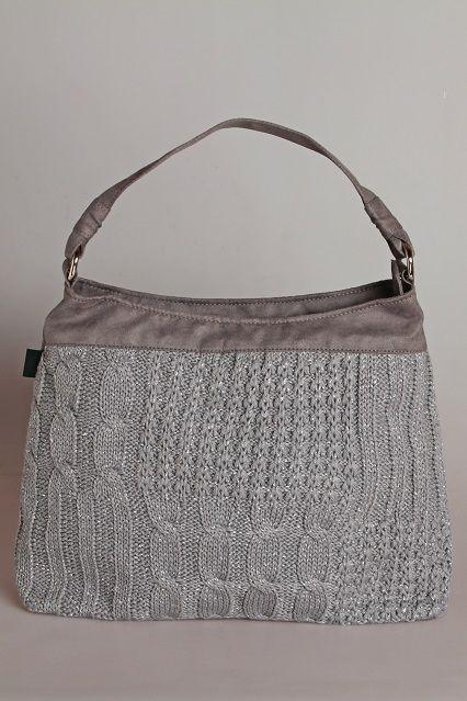 szürke textilbőr kötéssel
