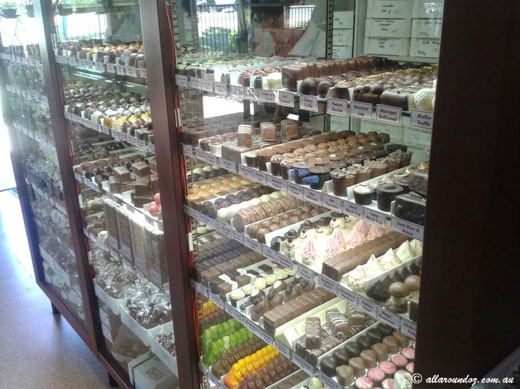 The Chocolate Gallery on Tambourine Mountain has a dazzling array of handmade chocolates.