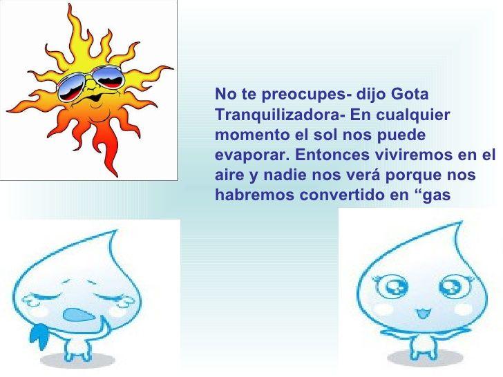 Cuento Ciclo Del Agua Cuento Del Agua Ciclo Del Agua Gotas De Agua