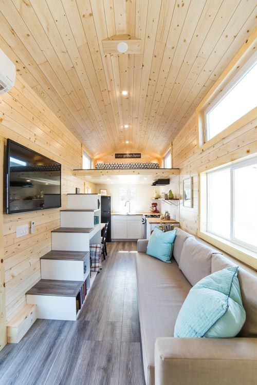 Tiny House Interior - Mansion Elite by Uncharted Tiny Homes