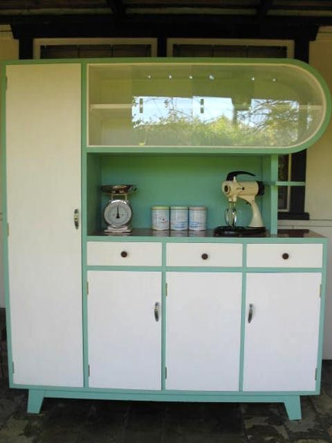 Kitchen dresser - love that shape