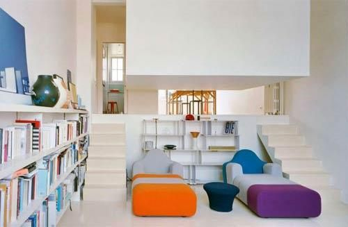 Loft with floating room | HomCozy