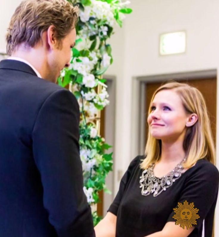 Kristen Bell And Dax Shepard's Wedding Photos Will Make You Die A Little