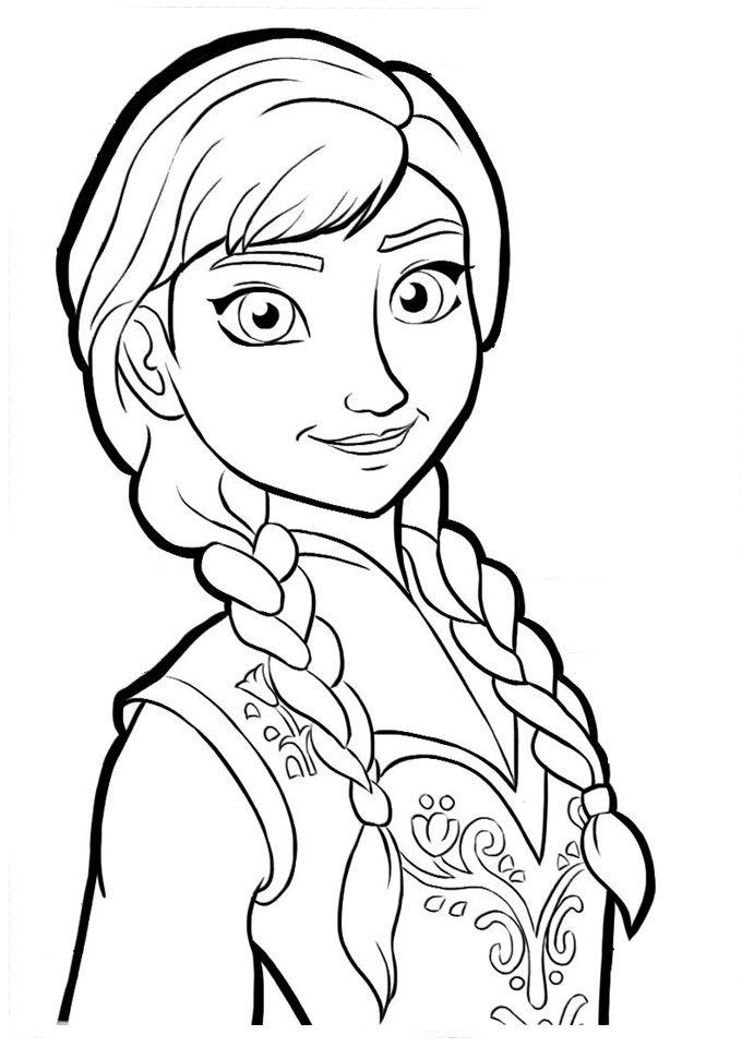 Mejores 268 imgenes de Princesas Colorear en Pinterest