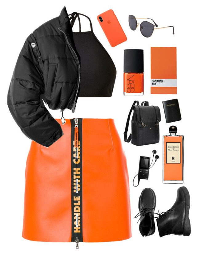 """Handle with care"" by mode-222 ❤ liked on Polyvore featuring Heron Preston, Mix & Match, 3.1 Phillip Lim, Serge Lutens, NARS Cosmetics, Seletti, Vera Bradley and Sony"