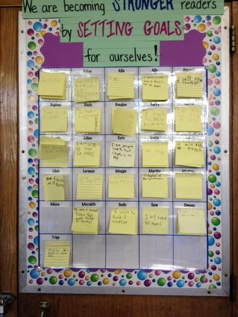 Classroom Goal Setting Ideas ~ Best images about goal setting in language arts on
