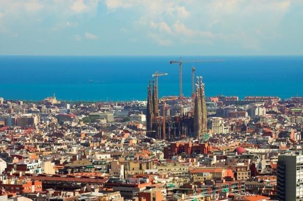 Sagrada Familia, Barcelona, Spain for blake