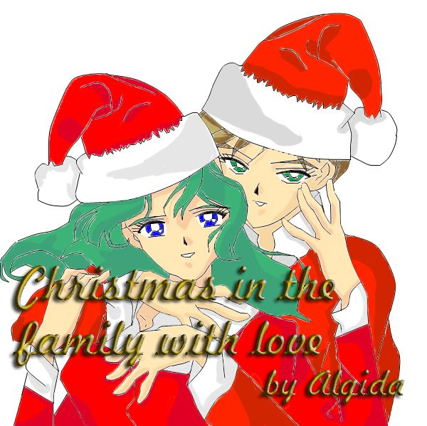 Haruka Michiru Christmas in the Family with Love  http://www.efpfanfic.net/viewstory.php?sid=902810&i=1